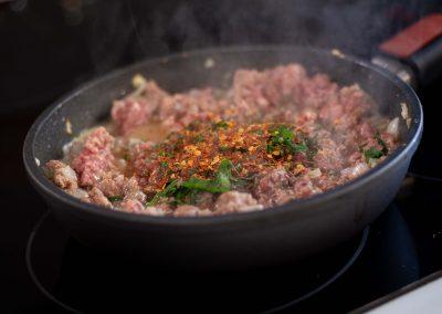 Condimentos para el relleno de carne