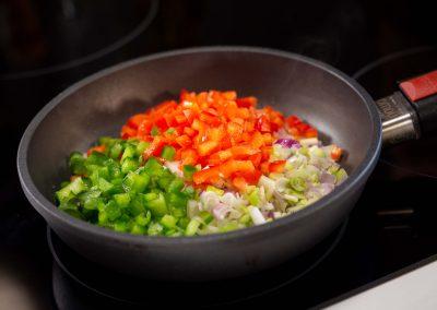 Verduras para el relleno